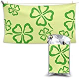 XCNGG Toallas de baño de secado rápido Toallas de baño para el hogar Toallas Quick-Dry Bath Towel, Highly Absorbent Soft Beach Towel, Shamrock for Bathroom, Camping, Backpacking, Gym, Travelling, Swim