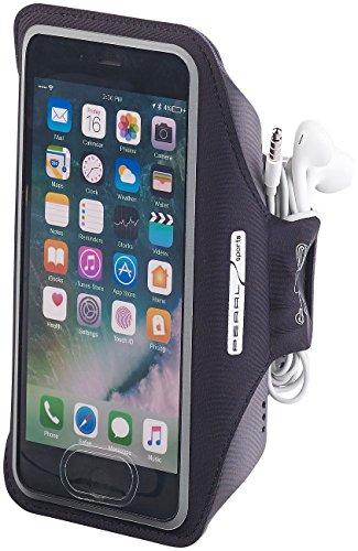 PEARL sports Handyarmband: Sport-Armband-Tasche für Smartphones & iPhones bis 5,5