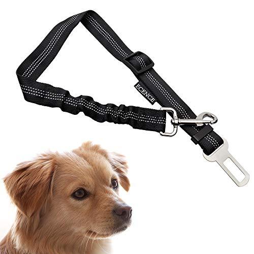 ECENCE 1x harnais de voiture pour chien ceinture de sécurité pour chiens ceinture élastique