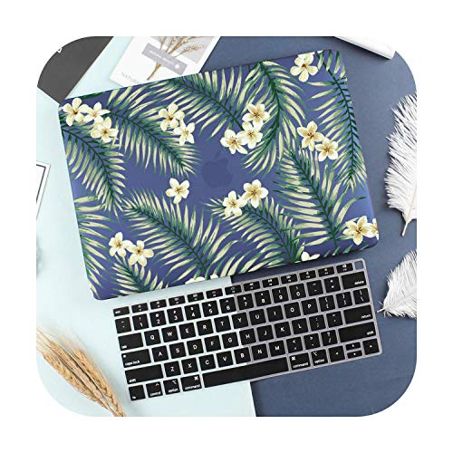 Cute Pattern Case for MacBook Pro Air 13 15 16 Touch bar/Touch ID 2202 A2289 A2159 A1932 A1706 A1990 Hard Cover +Free gift-X054-Model A1502 A1425
