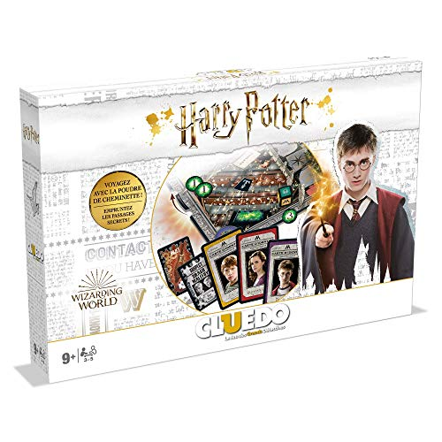 Winning Moves- CLUEDO Harry Potter-Jeu de société-Version fr