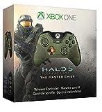 Microsoft - Mando Wireless - Edición Limitada, Halo 5, Jefe Maestro (Xbox One)