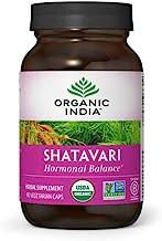 Organic India Shatavari Herbal Supplement - Supports Hormonal Balance, Immune and Inflammatory Response, Vegan, Gluten-Fre...