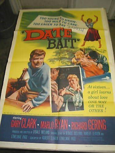 DATE BAIT Popular overseas ORIGINAL Weekly update U.S. ONE-SHEET GARY MOVIE CLARK POSTER