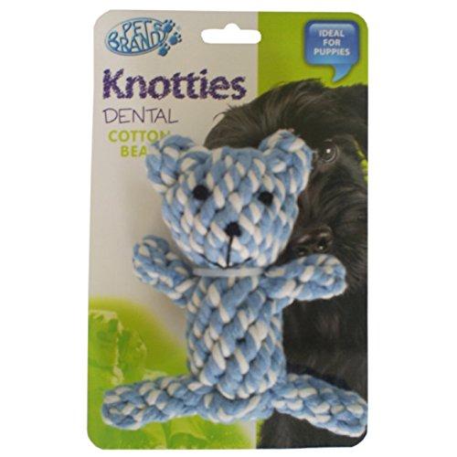 Knotties Hundespielzeug Knotty Teddy Bär
