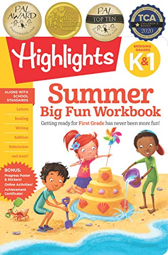 Summer Big Fun Workbook Bridging Grades K & 1 (Highlights Summer Learning)