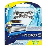 Wilkinson Sword Hydro 5 Rasierklingen, 8 Stück -