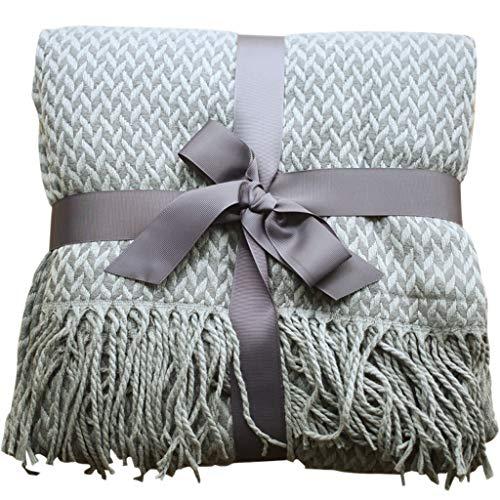 LYQZ Weich Leisure Blanket Nordic Ins Sofa Decke Trend Knitting Air Conditioning Blanket Einzel Nap Schlafzimmer Bett Schwanz Handtuch (Size : 130x220cm)