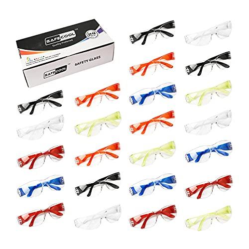 SAFECOOL HeavyDuty Protective Eyewear Safety Glasses Goggles