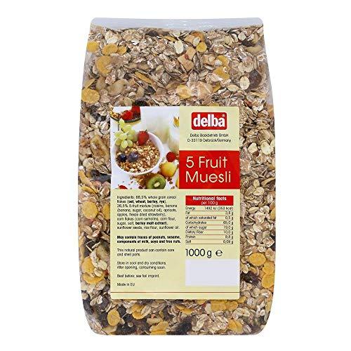 delba(デルバ) ファイブフルーツミューズリー 1kg×10個セット