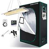MARS HYDRO TSL 2000W Full Spectrum LED Grow Light with 2x4FT Grow Tent, Indoor LED Grow Kits