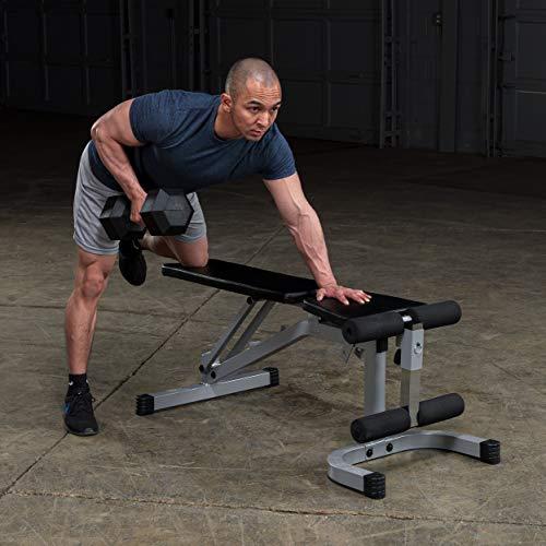 Body-Solid Powerline Flat Incline Decline Bench (PFID130X)
