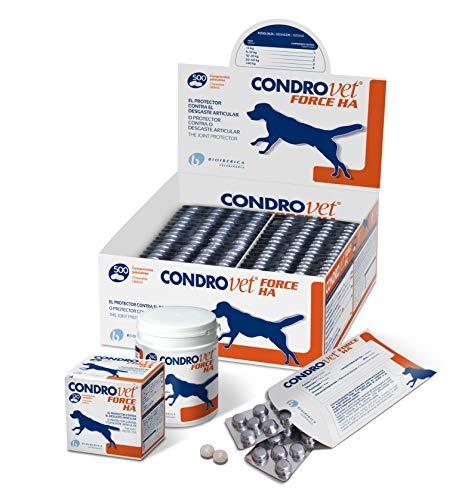 Bioiberica Condrovet Force Ha - Protector para Articulaciones, 240 Comprimidos