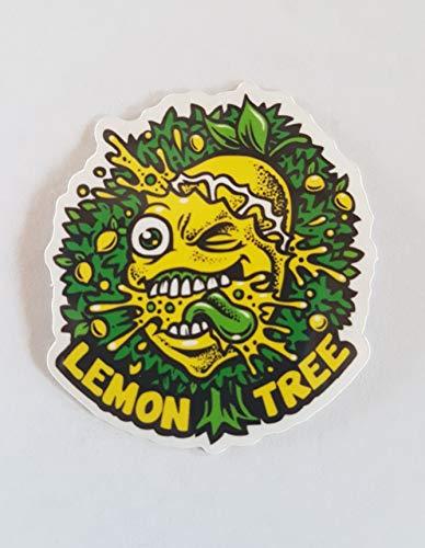 lemon tree - Vinilo Sticker Cali Slap Weed 420 710 Marihuana Cannabis Pegatinas para ordenador portátil coche skate board