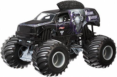 Hot Wheels Monster Jam Mohawk Warrior Die-Cast Vehicle, 1:24 Scale