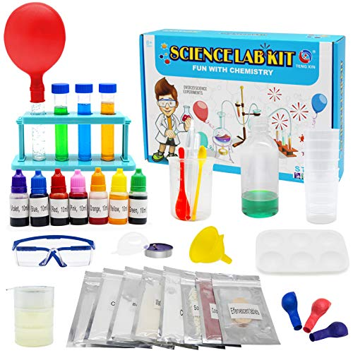 HOMILY Science Kit for Kids with Over 23 Science Experiments, Chemistry Lab STEM Toys for Kids
