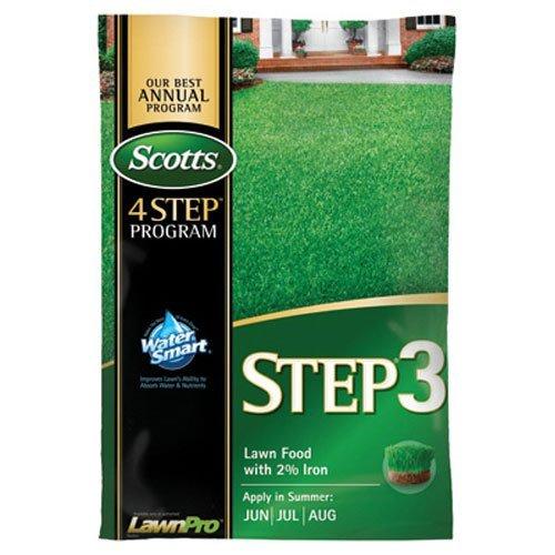 Scotts 33040 LawnPro Step 3 Lawn Food with 2-Percent Iron, 32-0-4, 12.50-Pound