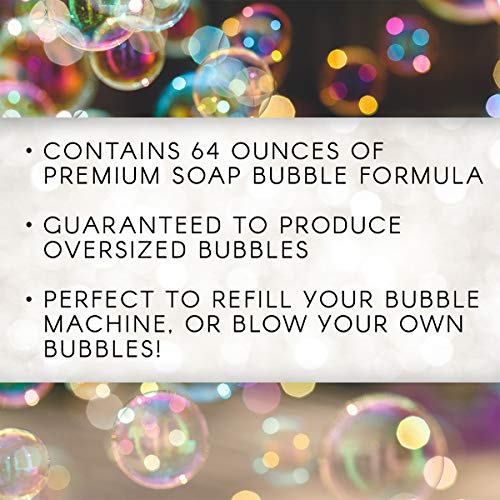 Miracle Bubbles, 64 Oz Bubble Solution