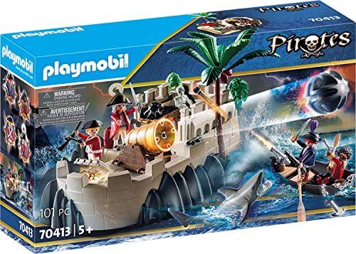 PLAYMOBIL Pirates - Bastión, a partir de 5 Años, 70413