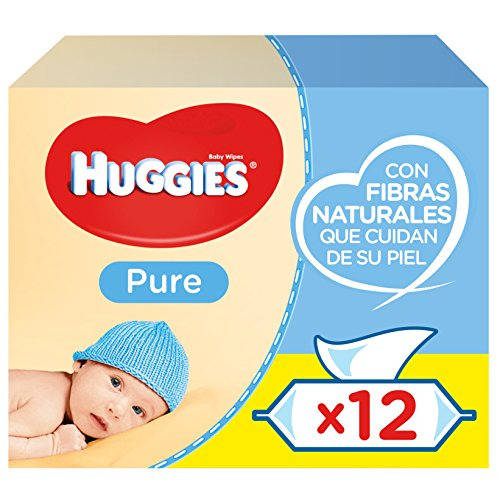 Huggies Pure Toallitas para bebé - 672 Toallitas