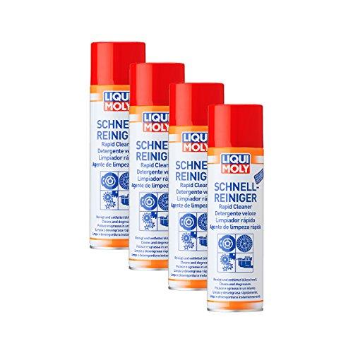 Liqui Moly 4X 3318 Schnell-Reiniger Spray BremsenReiniger 500ml