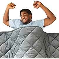Hypnoser 78 Inch x 85 Inch 15 lbs Weighted Blanket