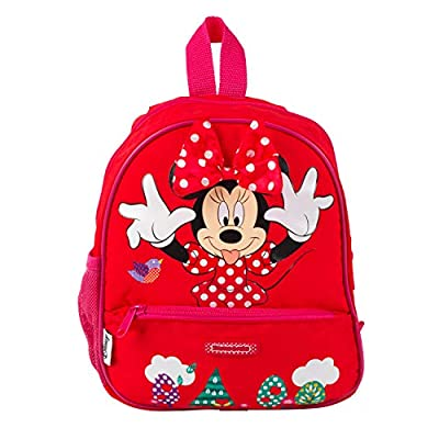 Samsonite 60323MINN Minnie Mouse Backpack | 7 L | for Kids, Schools, Holidays and More | Official Disney Product, Pink