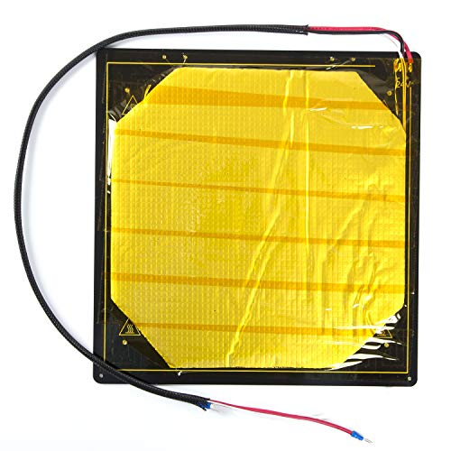 WANGZHI Aluminum Substrate 3d Printer Heated Bed CR-X Hot Bed Plate Kit for 3D Printer Applicable Models : Cr-x CR10S pro