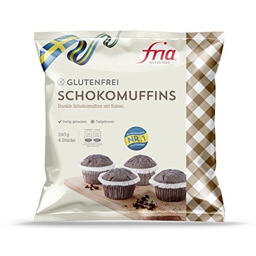 Fria - Schokomuffins glutenfrei TK - 4x60g/240g