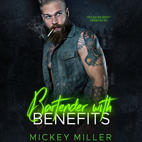 Bartender with Benefits audiobook cover art