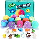 Bath Bombs for Kids with Toys Inside for Girls Boys -...