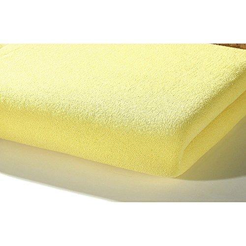 Alvi 93525 hoeslaken tricot, geel