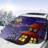 Kinder-Auto-Sonnenschutz für Halloween, Winter, Sommer, Auto, LKW, Van, Geländewagen, personalisierbar