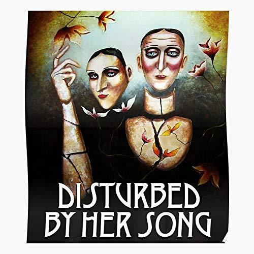 LaPet Her Alternatif Heavy Cover Metal Rock Nu Song by Album Hard Disturbed Geschenk für Wohnkultur Wandkunst drucken Poster 11.7 x 16.5 inch