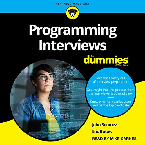 Programming Interviews for Dummies  By  cover art