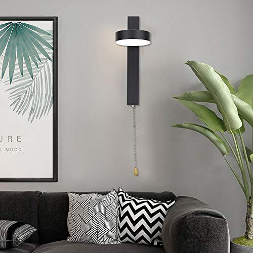 Mothinessto Lámpara de Pared para Dormitorio, Larga Vida útil Lámpara de Pared para cabecera Lámpara de Pared Exquisita Mano de Obra Amplia aplicación para Sala de Estar para Dormitorio