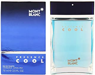 Presence Cool By M0ntblan Eau De Toilette EDT Spray For Men 2.5 fl oz / 75 ml