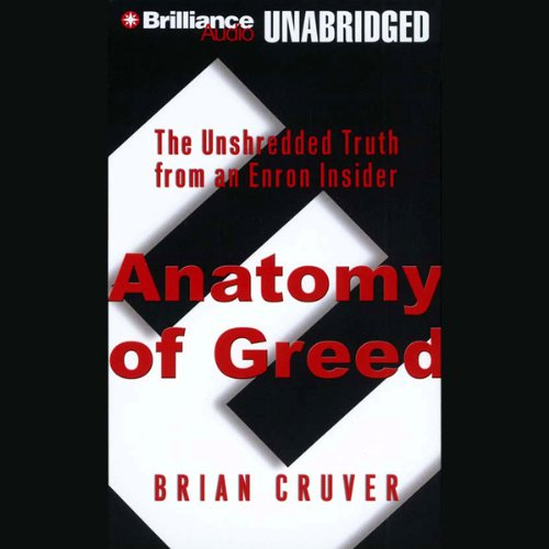 Anatomy of Greed audiobook cover art