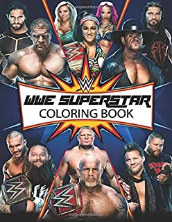 WWE Superstar Coloring Book: A wonderful book for wrestling fan