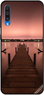 For Samsung Galaxy A50 Case Pathway To Sea Evening