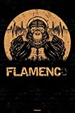 Flamenco Notebook: Gorilla Flamenco Music Journal 6 x 9 inch 120 lined pages gift