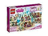 LEGO Disney Princess - Celebración en el Castillo de Arendelle, Juguete de Construcción del Palacio de Frozen, Incluye MiniFiguras de Olaf y de Elsa y Anna (41068)