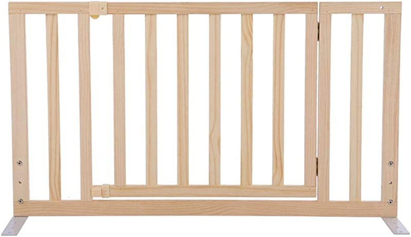 QIANDA Bed Rail Beds Guard Pine Wood Full Size Sleep Protectors Guardrail Safety And Stability For Kids Baby Color With Door Size 90cm
