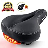 Best Comfortable Women Bicycle Seat Covers - SGODDE Comfortable Bike Seat for Men Women, Wide Review