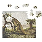 Jigsaw Puzzles for Adults & Kids Plateosaurus Old Poster Animals Home Decor Wall Art 110 Pcs