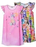 Rainbow Cat Nightgown for Girls Pajamas Nightdress Summer Cotton Nighty 8 9