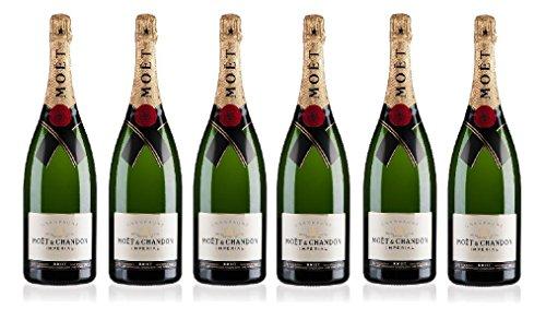 Lot de 6 Champagnes Moët & Chandon Impérial Brut 75cL