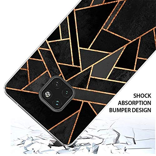 Croazhi Compatible with Hülle Huawei Mate 20 Pro Case Handyhülle para Huawei Mate 20/ Mate 20 Pro Silikon Crystal Tasche Cover TPU Schutzhülle Clear Transparent Backcover (6, Huawei Mate 20 Pro) - 5