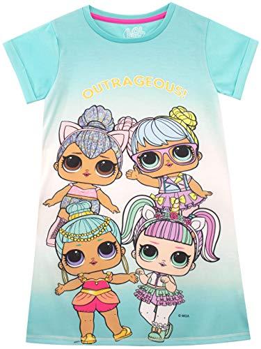 LOL Surprise Camisón para niñas Azul 9-10 Años