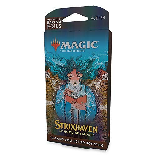 Magic: The Gathering Strixhaven-Sammler-Boosterpackung, 15 Magic-Karten - (Englische Version)